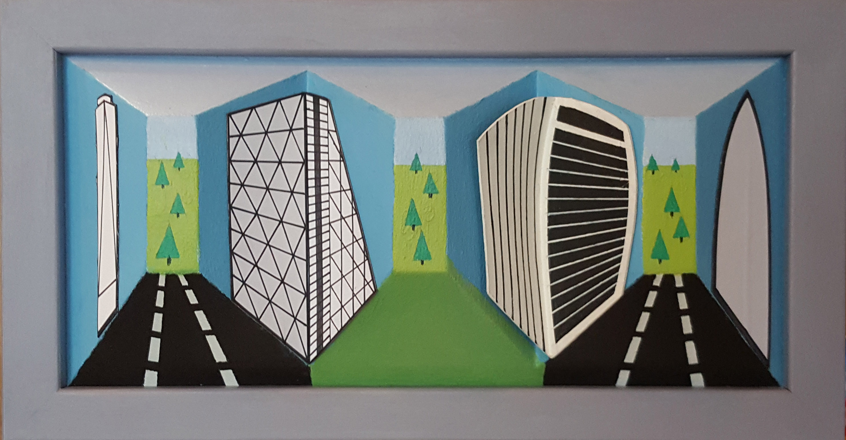 Magnetic Tower Blocks No.2