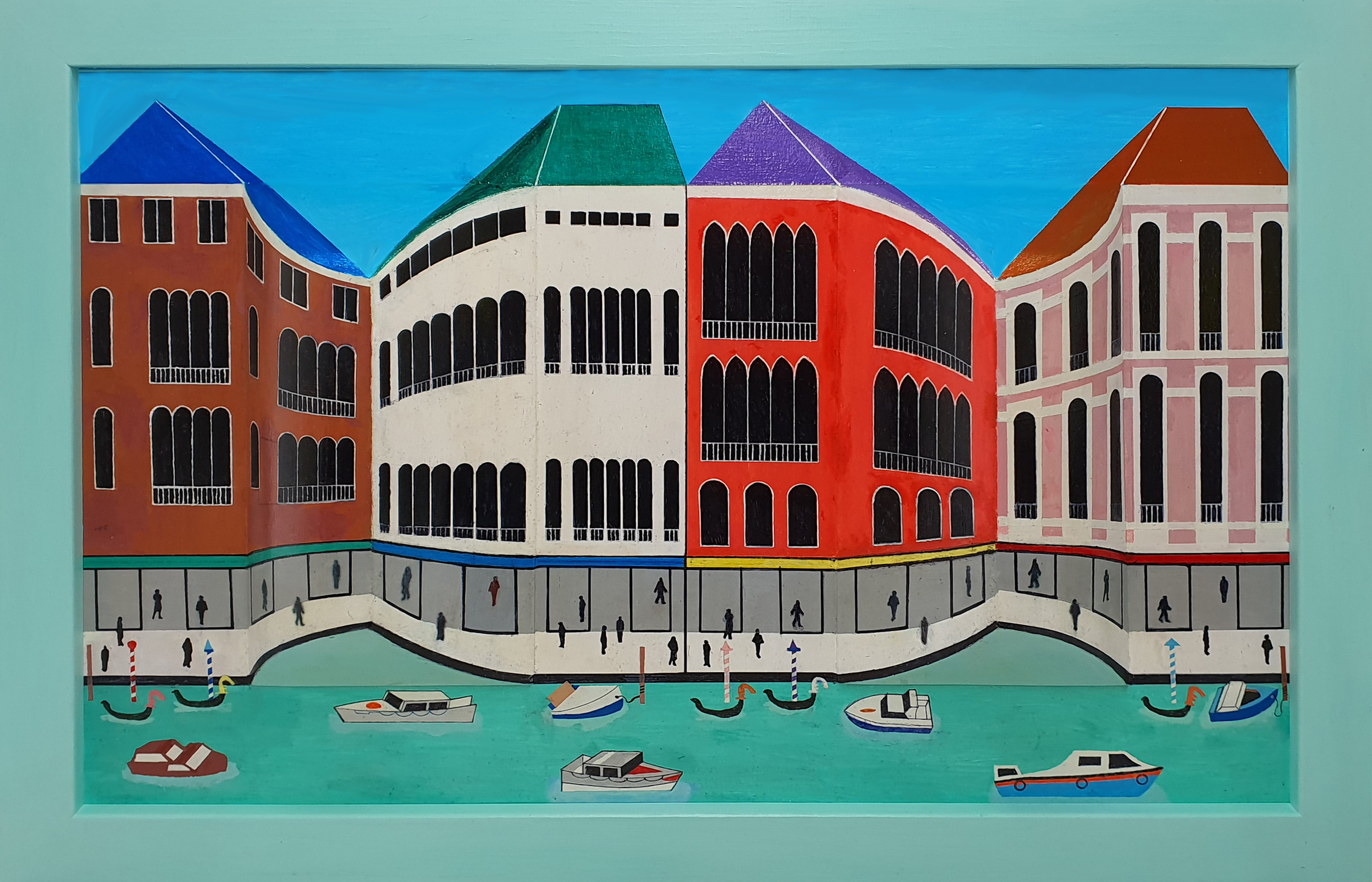 The Curved Grand Canal – Venice