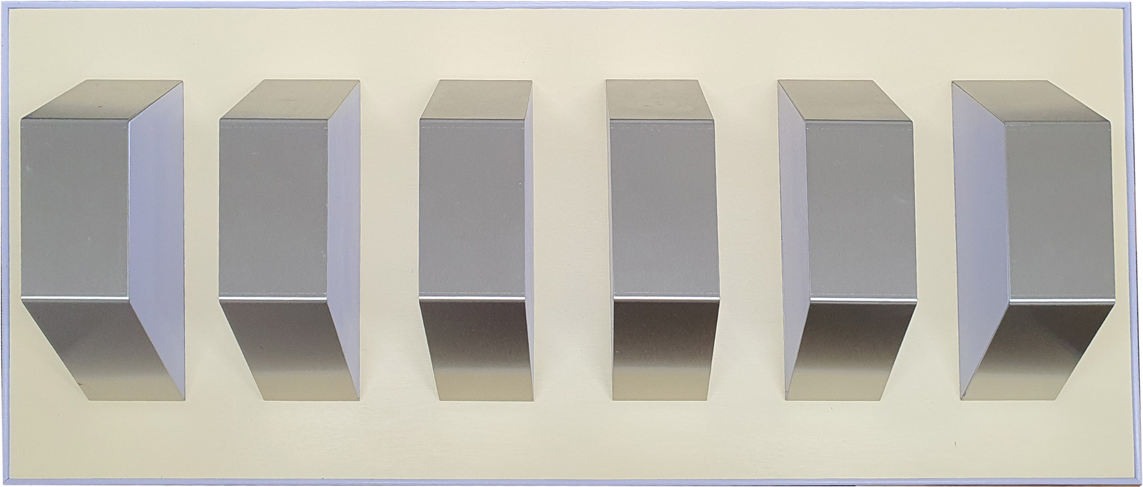 Homage to Donald Judd no.1 - Brian Weavers Artist