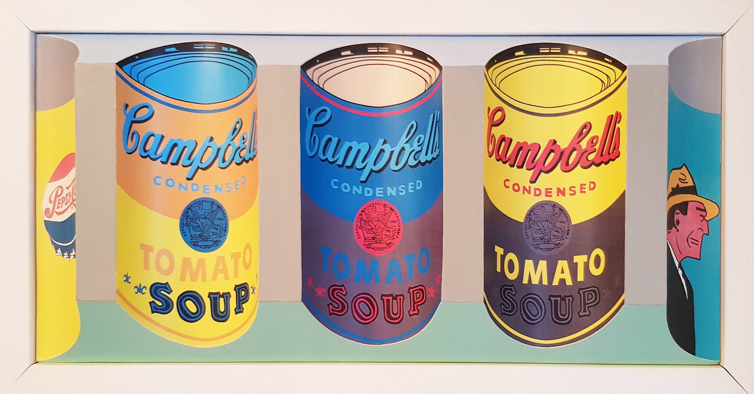 Campbells Soups 3D art by Brian Weavers edited stage3