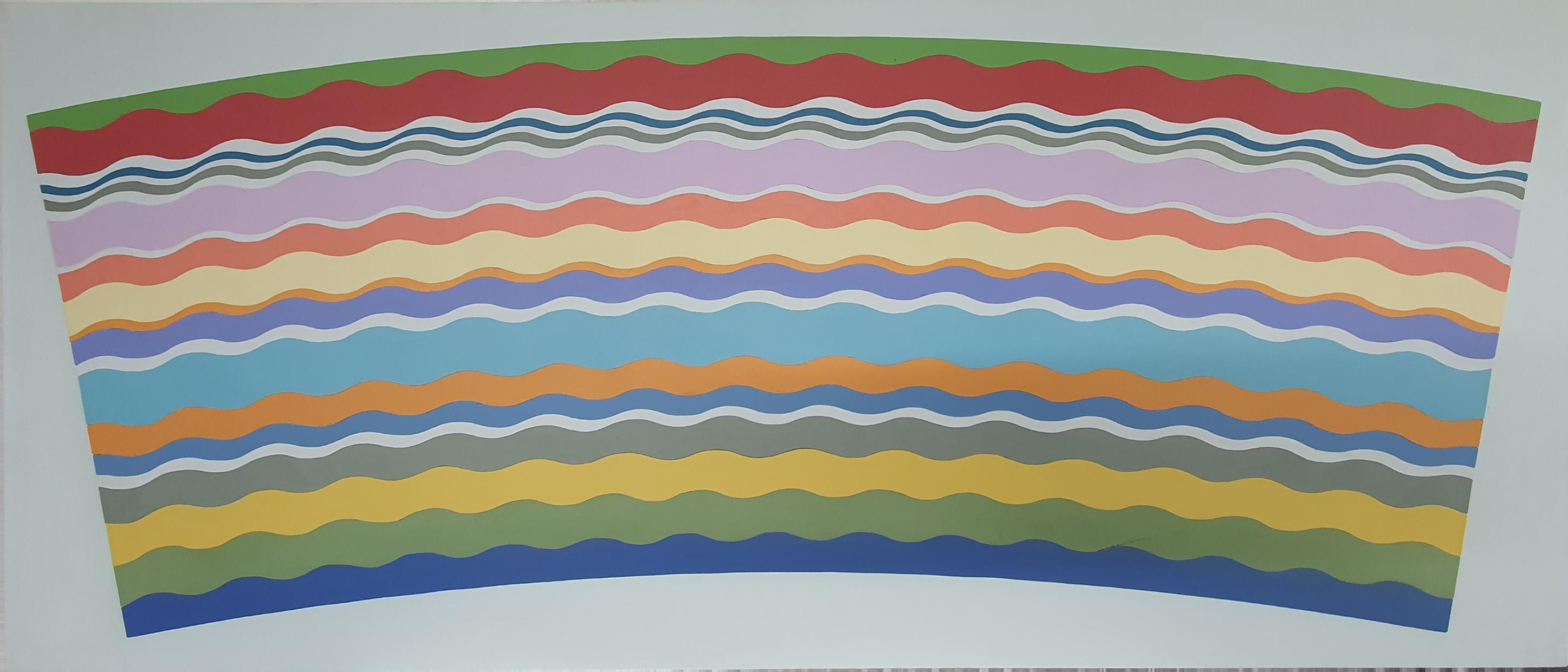 Brian Weavers Wavy Rainbow